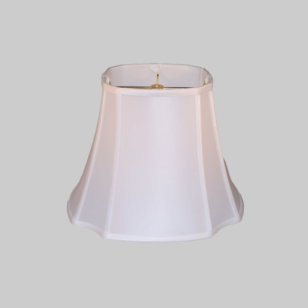 14 White French Oval Lamp Shade