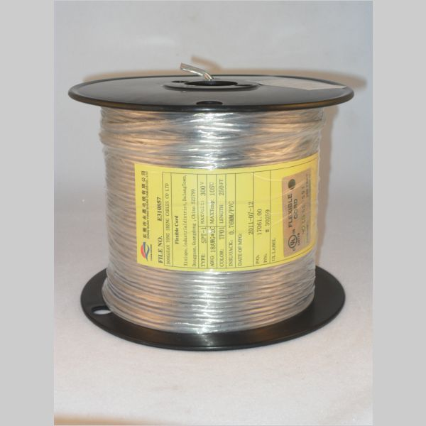 Buy Lamp Wire Clear Silver 18 2 Spt 1 Part 30259 Kirks